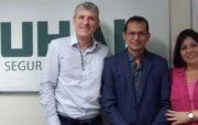 Seguradora SUHAI em SP, recebe Jair Fernandes, presidente do Sincor AM/RR