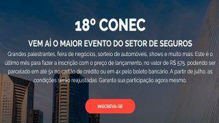Vem aí o maior evento do setor de Seguros - 18º CONEC